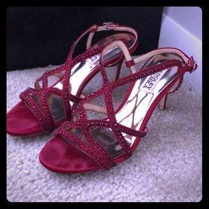 Bagdley Mischa wild embellished dress sandals red